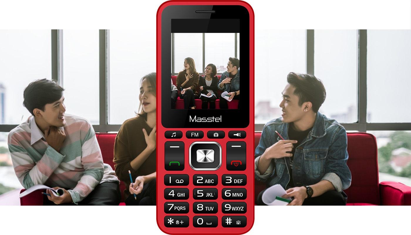 Điện thoại Masstel Izi 206 - Hàng chính hãng