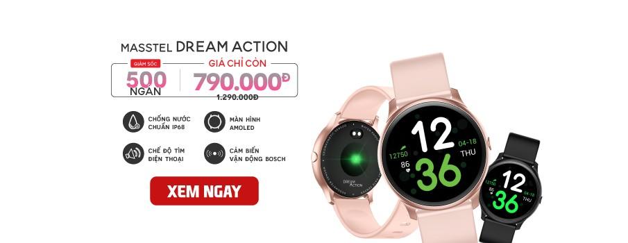 Masstel - Đồng hồ thông minh giá tốt